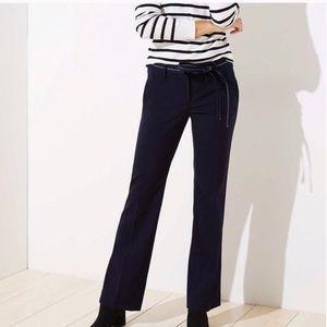 NWT Loft Navy Blue Marissa Trousers